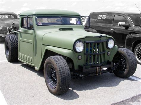 Rod Jeep Jeeps Rat Rods And Rats On