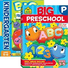 0008151601 starting school workbook ages school zone alphabet stickers workbook
