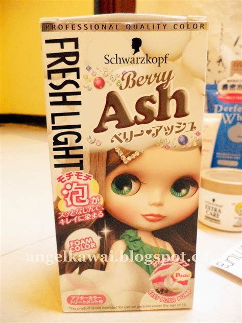 Harga Schwarzkopf Hair Colour angelkawai s diary review freshlight schwarzkopf foam