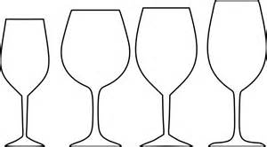 wine glass outline free vector graphic wine glasses white outline free