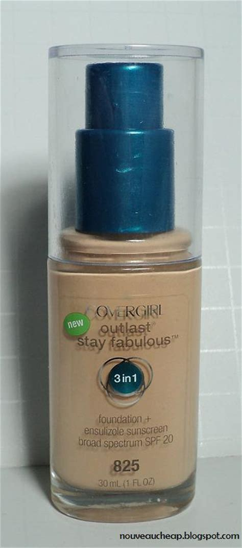Covergirl Outlast Foundation review covergirl outlast stay fabulous 3 in 1 foundation