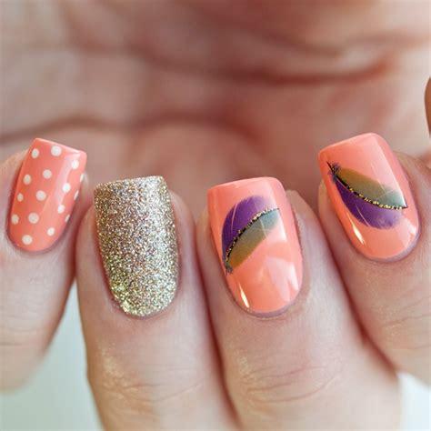 imagenes de uñas acrilicas color salmon 15 dise 241 os de u 241 as que puedes hacer paso a paso