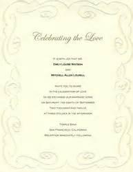 wedding invitation wording wedding invitation templates and groom hosting