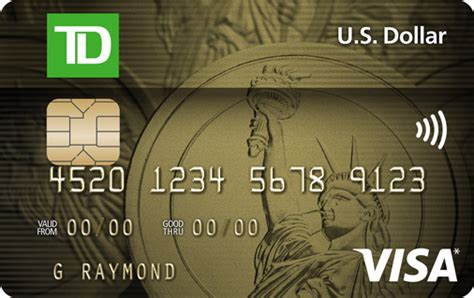 Visa Gift Card International Purchases - apply for a td u s dollar visa card td canada trust