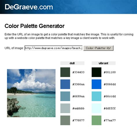 color palette generator automagically create a color