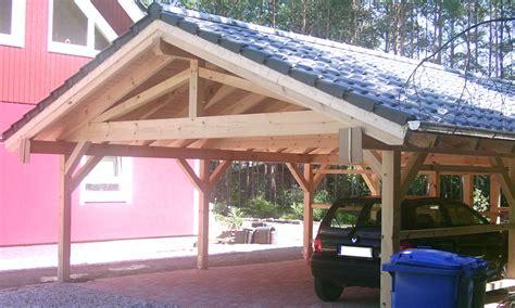 Carport Mit Satteldach by Satteldach Carport Holzgaragen Als Individueller Bausatz