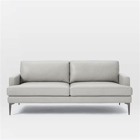 west elm andes sofa review andes leather sofa 76 5 quot west elm
