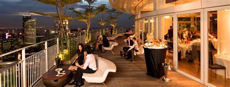 bar on top of marina bay sands valentine s day special 14 most romantic restaurants in