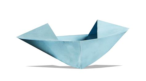 learn how to make a paper boat 3d origami boat diy learn origami how to make a