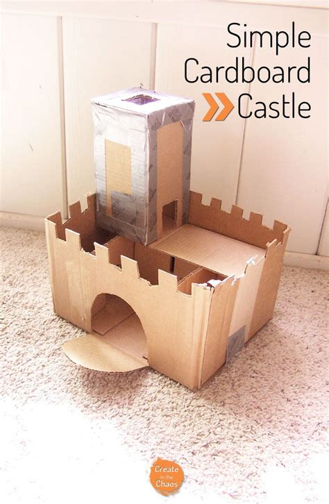 How To Make A Paper Castle Easy - best 25 cardboard castle ideas on cardboard
