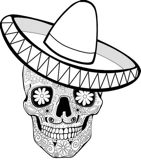 dia de los muertos mask coloring pages free day of the dead mask coloring pages
