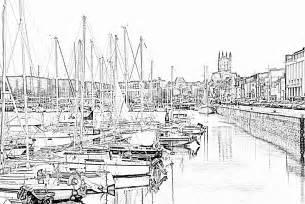Coloriage Port De Plaisance Fecamp 224 Imprimer Pour Les