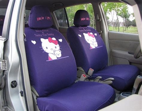hello kitty bench seat covers 17 best images about car seat covers on pinterest rear