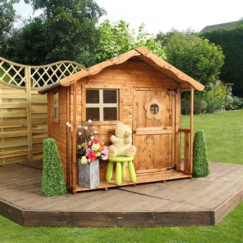 outdoor wooden playhouse mercia tulip wooden playhouse mercia garden