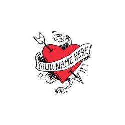 tattly designy temporary tattoos heart with no name by