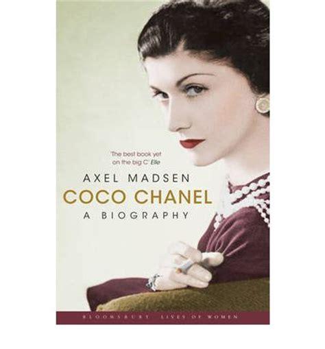 coco chanel biography novel coco chanel a biography axel madsen 9781408805817