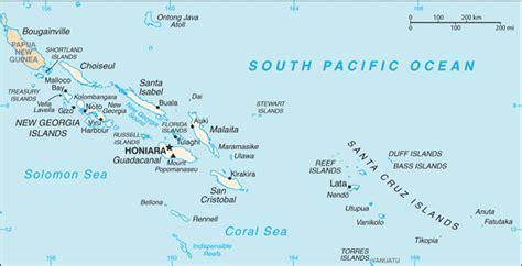 solomon islands map solomon islands vanuatu seamercy org