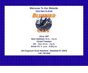 Bluebird Cafe Calendar The Bluebird Cafe In Wakefield Ri