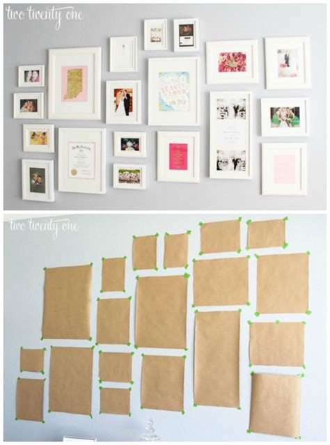 photo frame display on wall create a gallery wall ideas for picture frame displays