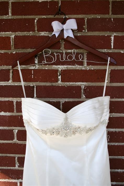 Bridal Gown Hangers   The Newly Engaged