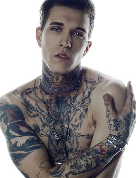 tattoo model london hottest tattooed male models page 3 of 10 alux com