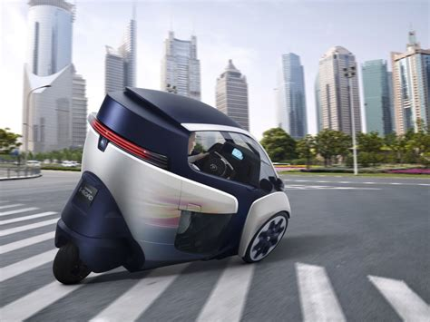 Toyota I Road Self Leaning Toyota I Road Concept Debuts In Geneva