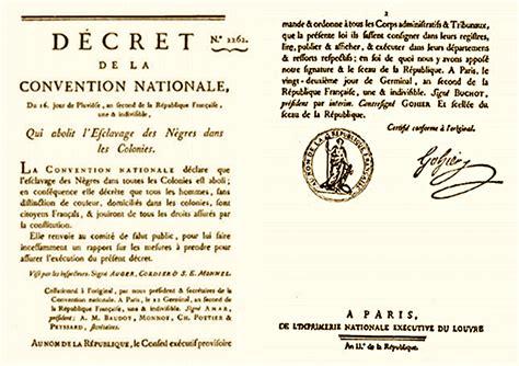 1293438219 histoire de l abolition de l ordre d 233 cret d abolition de l esclavage sant 233 des iles