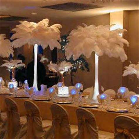 Feather Vases Weddings by Diy How To Make Ostrich Feather Tower Vase Arrangements