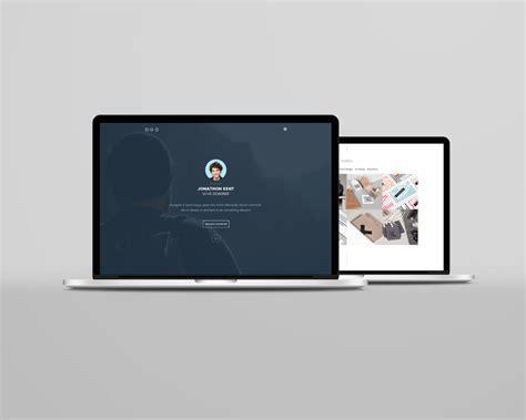 Laptop Mockup Psd Laptop Website Templates Free