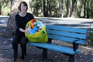 recycled plastic park benches australia wa town recycling its plastic packaging to make park
