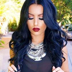 is black a hair color blue black hair tips and styles blue hair dye styles