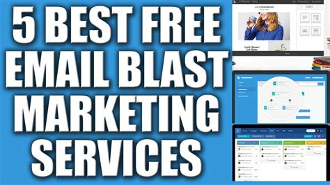 Email Marketing 5 by 5 Best Free Email Blast Marketing Services Provider 2016