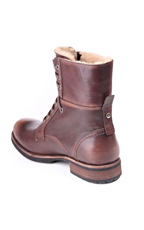 mens australian boots ugg australia larus mens winter boots blueberries