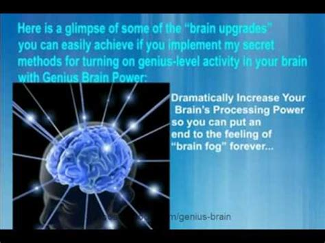 How To Be A Genius Your Brain And How To It genius brain power mp3 audio package power your mind brain power increase