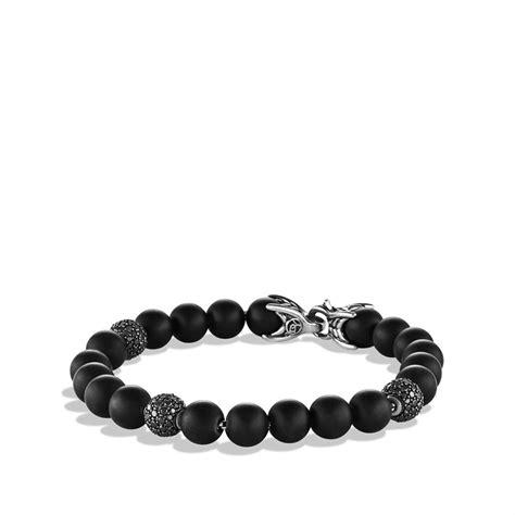 david yurman bead bracelet david yurman spiritual bracelet with black onyx and