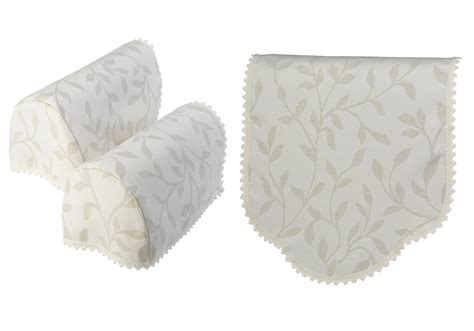 arm caps covers for chairs and settees antimacassar chair back or arm caps decorative floral leaf