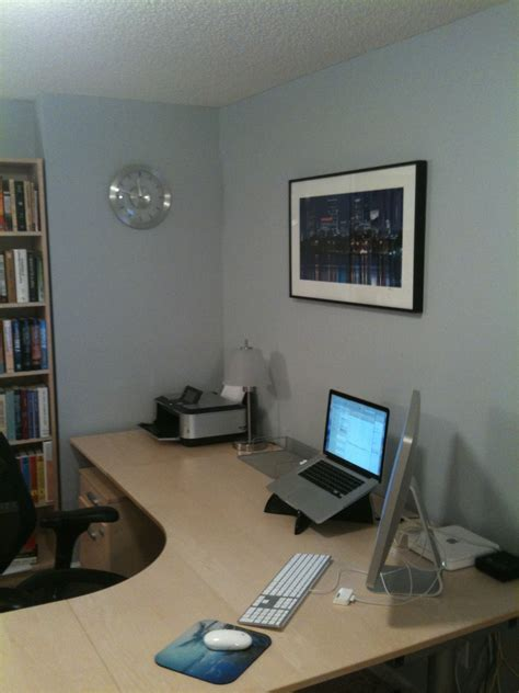 how to setup a home office in a small space how to set up your desk basic principles what s best next