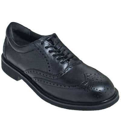 rockport works shoes s steel toe wing tip work shoes