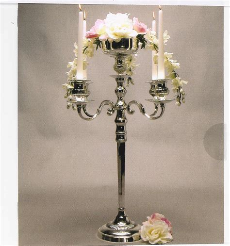 candelabra centerpieces for rent simply weddings candelabra rentals