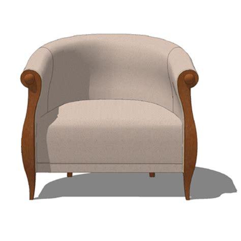 settee seating royalton furniture david edward online 3d model