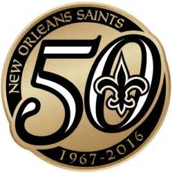 new orleans saints colors new orleans saints 2016 anniversary logo iron on transfer