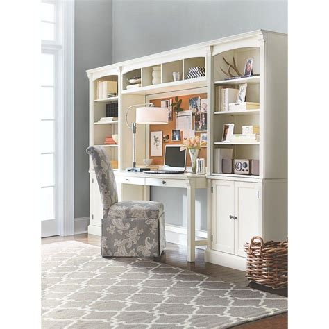 Decorators Home Collection Home Decorators Collection Edinburgh 7 Ivory Modular Office Suite 3062400410 The Home Depot