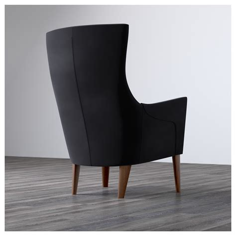 stockholm high back armchair stockholm high back armchair sandbacka black ikea