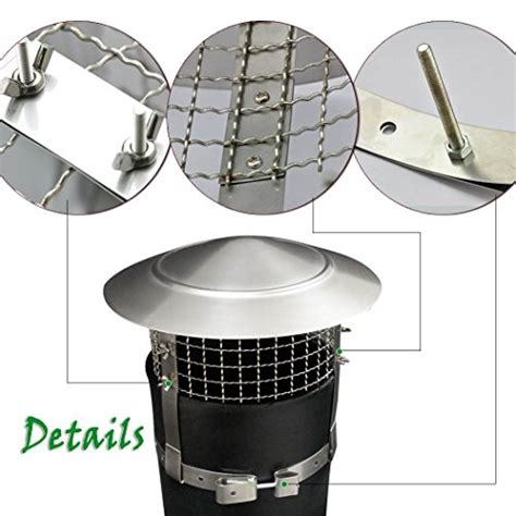 Chimney Mesh Covers - anti bird stainless steel 9 inch mesh flue chimney