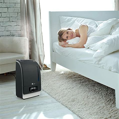 bedroom vaporizer warm cool mist humidifier with led display taotronics
