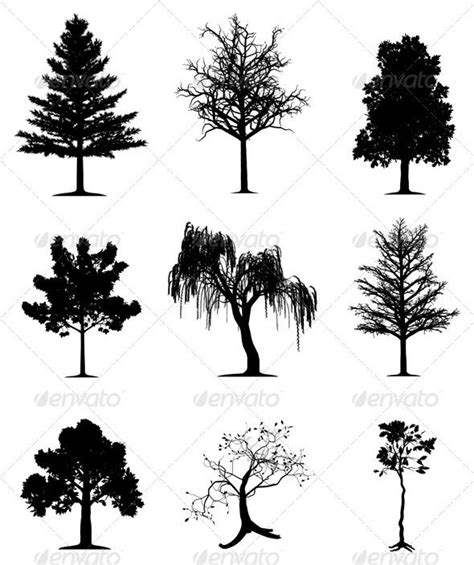 tree silhouette tattoo 17 best ideas about tree silhouette on