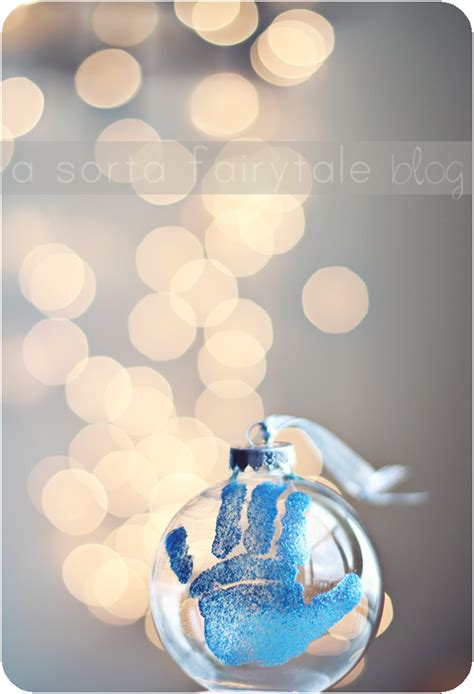 a sorta fairytale diy baby s 1st christmas ornament