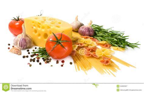food ingredients vegetarian food ingredients for italian pasta royalty free stock photography image