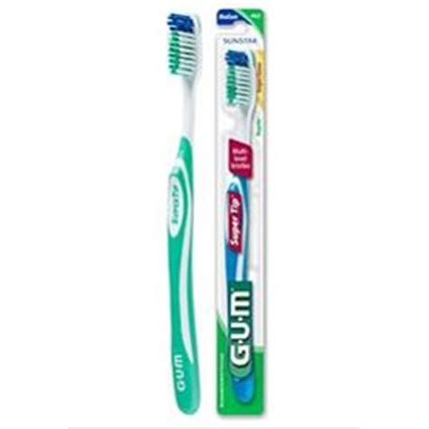 Vender Rubber Type W gum tip toothbrush compact soft toothbrush