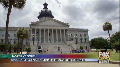 Mba South Carolina Ranking by Carolina Beats South Carolina In Best States